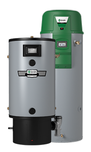 Tank gas water heater