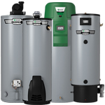 Gas & Propane<br />Water Heaters